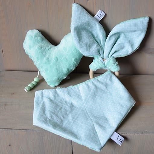 bandana-mint-groen-zacht-soft-katoen-zigzag-liznoah-01