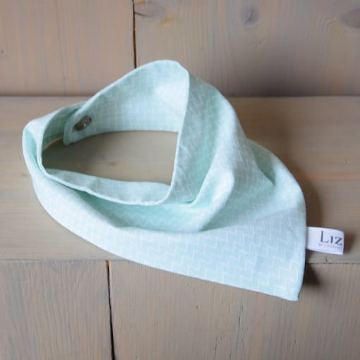 bandana-mint-groen-zacht-soft-katoen-zigzag-liznoah-04