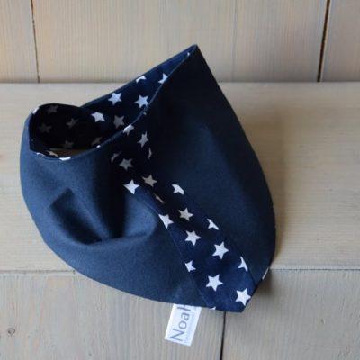 bandana-sterren-donkerblauw-wit-streepje-www.liznoah.nl-02